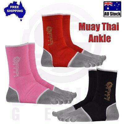 Muay Thai Kick BOXING Foot ANKLE Gym UFC MMA Supports Anklet Brace TRAINING