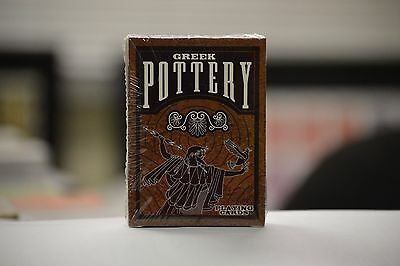Greek Pottery Playing Cards Deck brand new sealed