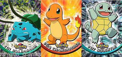 Pokemon Topps Official Trading Cards Series 1 FOIL 1999 Pick A Card
