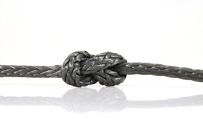 Black Dyneema Core - Rope Sizes 1.5mm - 6mm - Market leading product!!