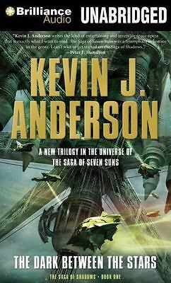 THE DARK BETWEEN THE STARS unabridged audio book on CD by KEVIN J. ANDERSON