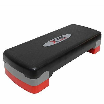 Stepper Step Block Cardiovascular Fitness Aerobic Exercise Gym Yoga Adjustable