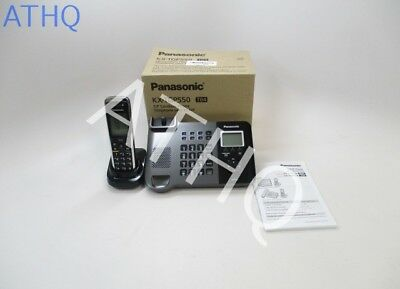 Panasonic KX-TGP550T04  , Expandable Cordless VoIP Phone with Handset Brand New