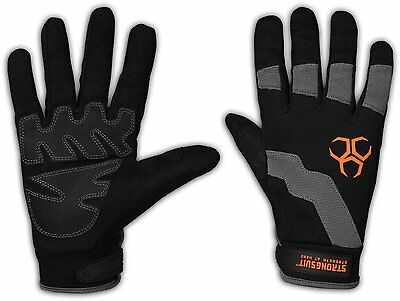 StrongSuit 10200-XL Dynamo Work Gloves with PVC Palm Pads X-Large