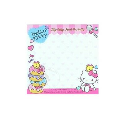 Pretty Sanrio Hello Kitty 30 Sheets Notepad/memo Pad/cute Note #m