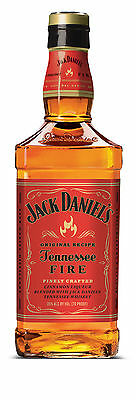 Jack Daniels Tennessee Fire Cinnamon Liqueur BIG 1000ML - FREE DELIVERY