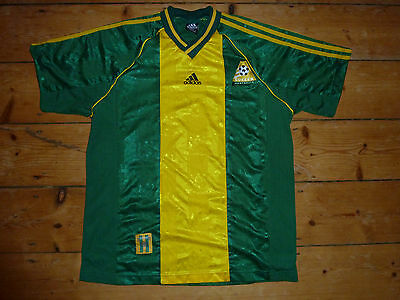 AUSTRALIA football shirt size:L Adidas Home Soccer Jersey Rare AUSSIE HOME TOP