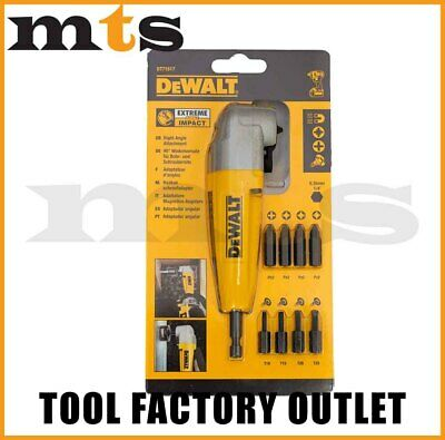 Dewalt DT71517 Right Angle Drill Attachment With 9 Impact Ready Screwdriving Bit
