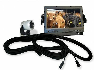 """AgCam Dakota Micro 7"""" LED Monitor with 3.6mm Camera, Remote, and Cabling NEW"""