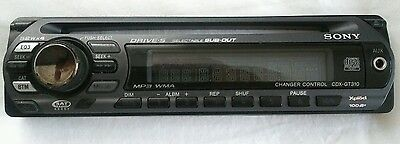 Sony Faceplate  Cdx-Gt310