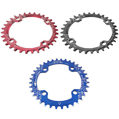 SNAIL Single Tooth Narrow Wide Bike MTB Chainring 104BCD SK