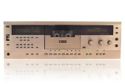 Sharp Optonica RT-7100 HB Stereo Kassettendeck Cassetten Deck Tape Deck