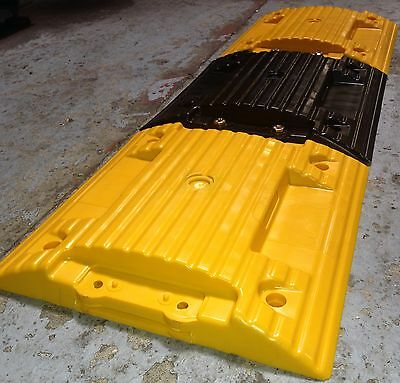 Speed bumps  (high resistance plastic for light and heavy traffic)