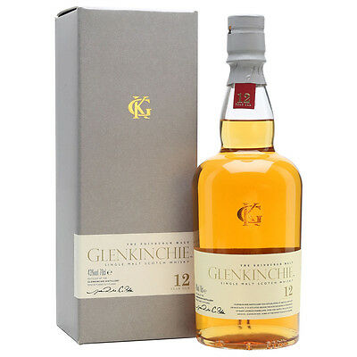 Glenkinchie 12 Year Old Scotch Whisky 700mL