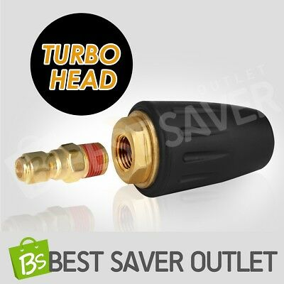 Pressure Washer Turbo Head Nozzle for High Pressure Water Cleaner 3000PSI