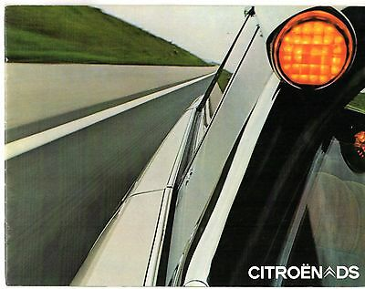 Citroen DS 1971-72 Dutch Market Brochure Special Super 20 21 Pallas Prestige