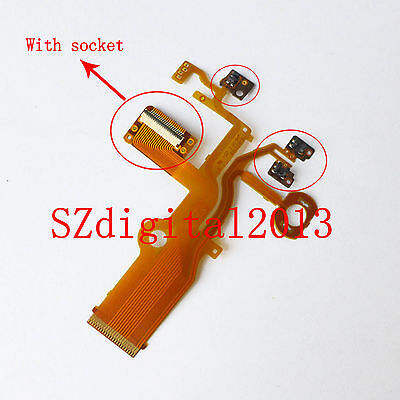 Lens Back Main Flex Cable For Panasonic DMC-ZS20 TZ30 DMC-ZS30 TZ40 With socket