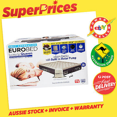 EUROBED◉LUXURY QUEEN EURO BED◉TUFF-TEX◉Self-Inflatable◉As Seen On TV◉SYD PICKUP◉