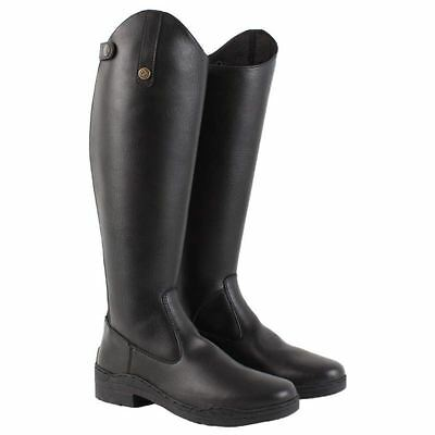 Brogini Modena Ladies Women Equi Leather Anti Slip Long Riding Competition Boots