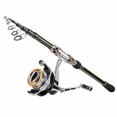 KastKing Spinning Combo Telescopic Fishing Rod with Reel Combo Sea Saltwater Kit