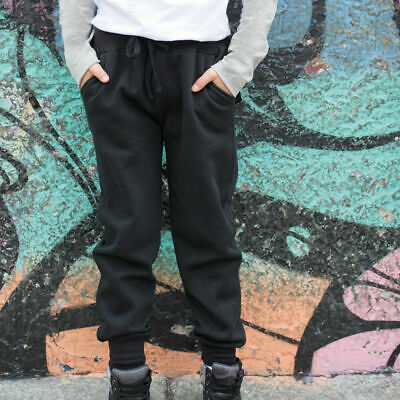 SF Mini SM425 Kids Childrens Slim Cuffed Jogger Jogging Sweatpants Casual Bottom
