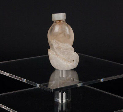 China 20. Jh. A Chinese Rock Crystal Snuff Bottle - Tabatière Cinese Chinois