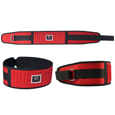 """Weightlifting Fitness GYM BELT 5"""" Wide Back Support Neoprene Power Lifting"""