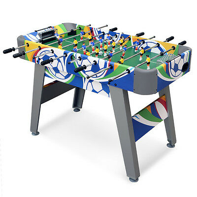 4ft Indoor Football Table Game Table Soccer Children Kids Birthday Gift