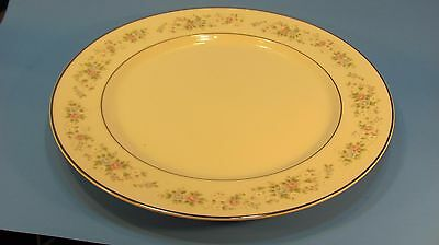 "Carlton Fine China "" CORSAGE""  # 481 Chop Serving Platter .. 12"""