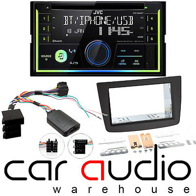 Alfa Romeo Mito JVC Bluetooth CD MP3 USB Car Stereo & Full Fitting Kit