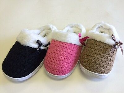 Girls Winter Slippers 10-4 (Please check the out sole measurement)