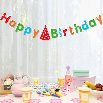 """3 Metres""""Happy birthday""""  Banner Garland For birthday Party Home Decorations"""