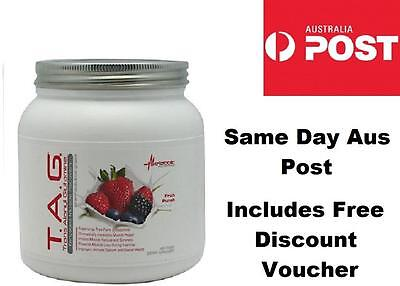 METABOLIC NUTRITION TAG Post Workout FRUIT PUNCH Muscle Targeted Recovery
