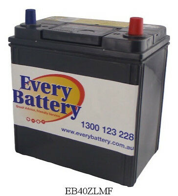 Toyota Corolla Car Battery Ascent,Levin,Conquest 1999-2001 EB40ZLMF 12 month war