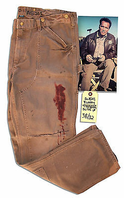 Arnold Schwarzenegger Screen-Worn Work Pants w COA