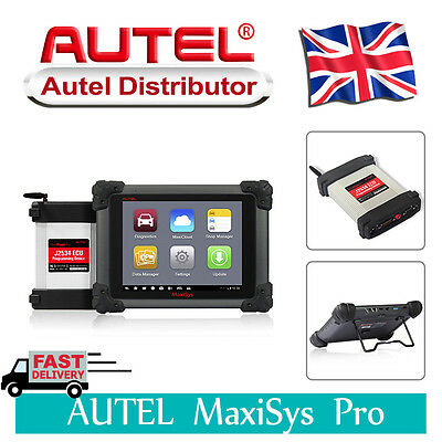 New Autel Maxisys Pro MS908P Diagnostic System J-2534 reprogramming Scan Tool UK