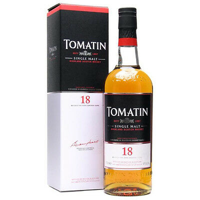 Tomatin 18 Year Old Sherry Cask Scotch Whisky 700mL
