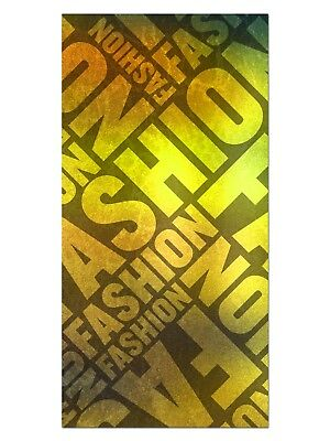 HD GlasBild, Wandbilder XL 50 x 100 cm, EG4100502135 FASHION DESIGN NEON ABSTRAK