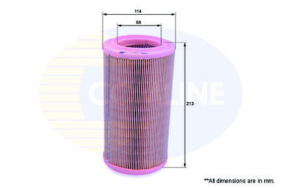 Comline Eaf080 Air Filter Fit Lx852 Citroen