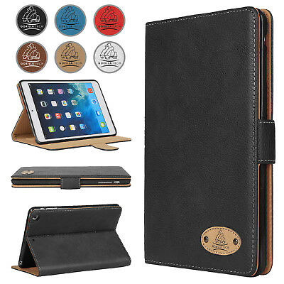 Genuine Slim Leather Case Smart Flip Stand Cover UK Smart Magnetic Retail Pack