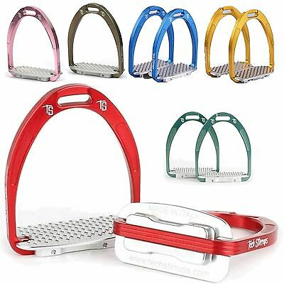 New Show Jumping Competition Horse Riding 'Athena' Tech Stirrup Iron All Colours
