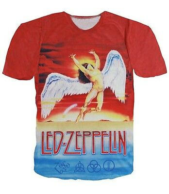 LED ZEPPELIN Swan Song Double Sides  Tee T-shirt # A036