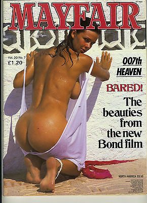 (124A) Vintage MAYFAIR MAGAZINE Volume 20 N° 7 Mens adult glamour