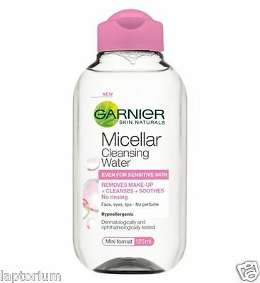 Garnier Skin Naturals Micellar Cleansing Water 125ml CLEANSES & REMOVES MAKEUP