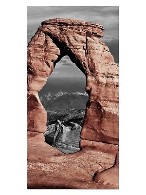 HD GlasBild, Wandbilder XL 50 x 100 cm, EG4100502391 GRAND CANYON BERG FARBIG II