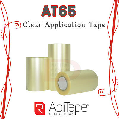 """Clear Application Transfer Tape AT65 for Sign Adhesive Vinyl 8"""" x 300FT :)"""
