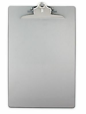 Saunders 22519 Recycled Aluminum Clipboard with High Capacity Clip - NEW