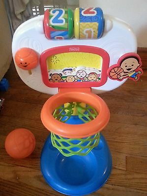 Fisher price basketball toddler game