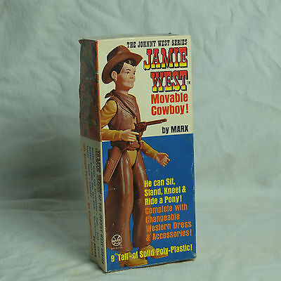 Marx - Vintage Jayme West With Box And All Accessories Rare And Vhtf