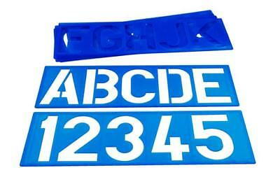 Sign Making Stencil Kit - 4 inch Letters - Durable